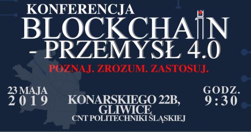 KONFERENCJA BLOCKCHAIN - PRZEMYSŁ 4.0.