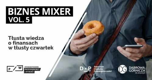 Biznes Mixer vol.5 - Finanse firmowe vs. osobiste - ugryź temat?
