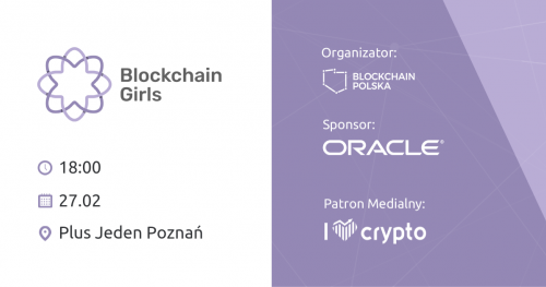 Meetup Blockchain Girls Poznań #3