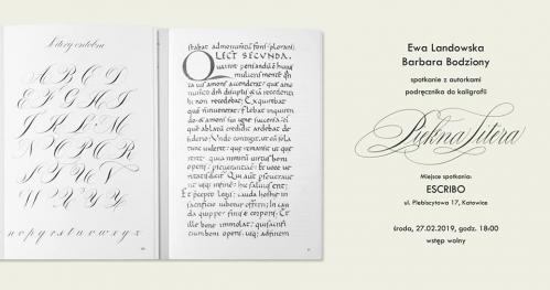 Piękna Litera - Spotkanie z Ewą Landowską i Barbarą Bodziony