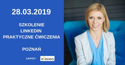Szkolenie LinkedIn - praktyczne warsztaty - Poznań