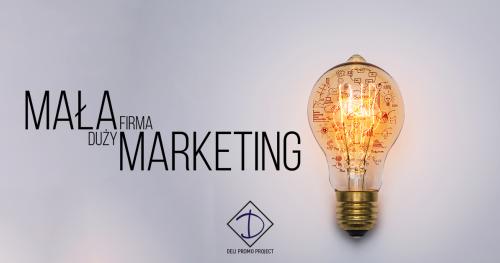 Mała firma - duży marketing, czyli jak efektywnie wdrożyć rozwojowe działania promocyjne i marketingowe w małej firmie