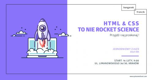 HTML & CSS to nie rocket science - jednodniowy zjazd