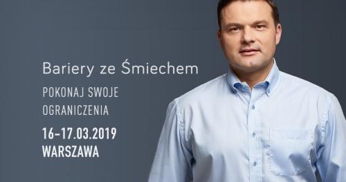 Bariery ze Śmiechem w Warszawie (16-17.03.2019)
