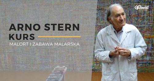 Arno Stern - KURS: Malort i zabawa malarska