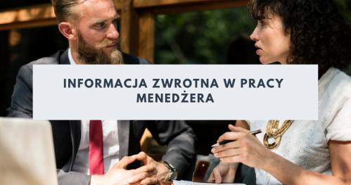Informacja zwrotna w pracy menedżera - warsztat w Warszawie