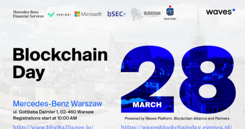 Waves Blockchain Day Powered by Waves Platform, Blockchain Alliance and Partners