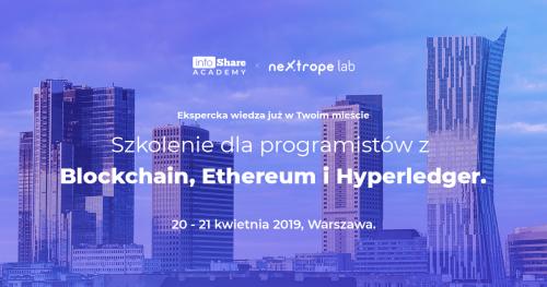 Ethereum w Praktyce - 2 dniowy kurs programowania na blockchainie
