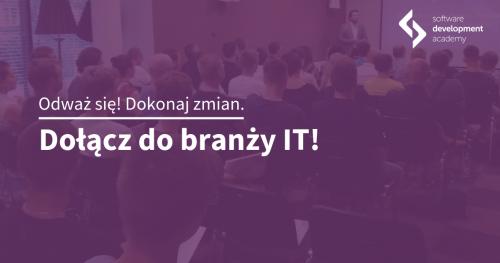 Zostań programistą! Spotkanie informacyjne St@rt IT w Gdyni