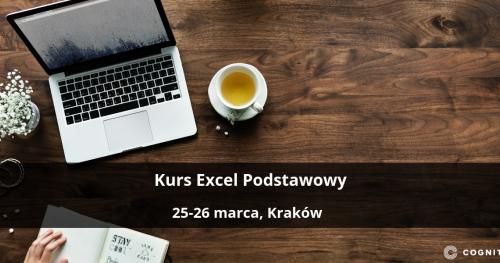 Kurs Excel Podstawowy - Kraków