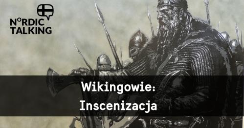 NORDIC TALKING - Wikingowie z Nordelag - inscenizacja walki przed budynkiem Ratusza Staromiejskiego.