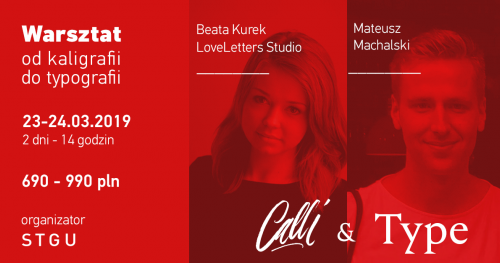 Warsztat Calli & Type - od kaligrafii do typografii