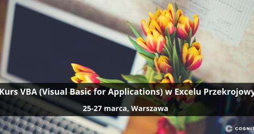 Kurs VBA (Visual Basic for Applications) w Excelu Przekrojowy - Warszawa