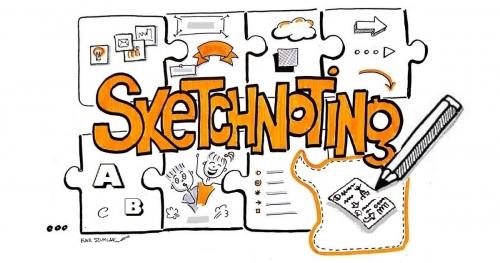 SKETCHNOTING, czyli warsztat robienia rysunkowych notatek i flipów - ŁÓDŹ