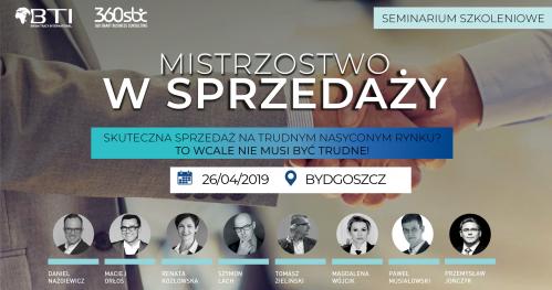 MISTRZOSTWO W SPRZEDAŻY - Bydgoszcz