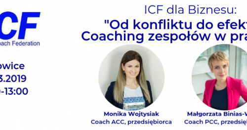 ICF dla biznesu: Od konfliktu do efektu - coaching zespołów w praktyce