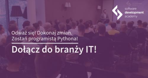 Zostań programistą Pythona! Spotkanie informacyjne St@rt IT