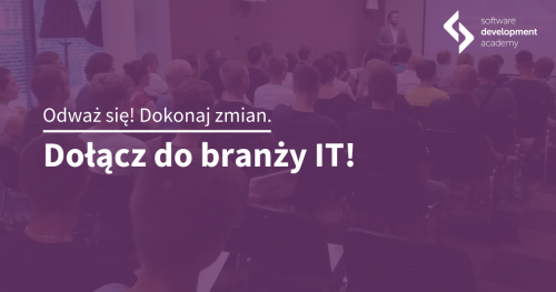 Zostań programistą Java! Spotkanie informacyjne St@rt IT we Wrocławiu