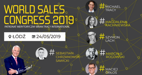WORLD SALES CONGRESS 2019 - ŁÓDŹ