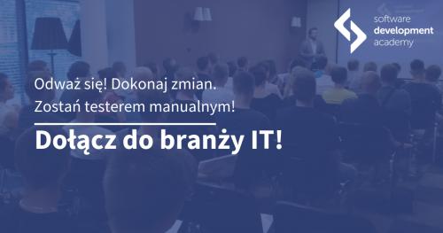 Zostań testerem! Spotkanie informacyjne w Warszawie