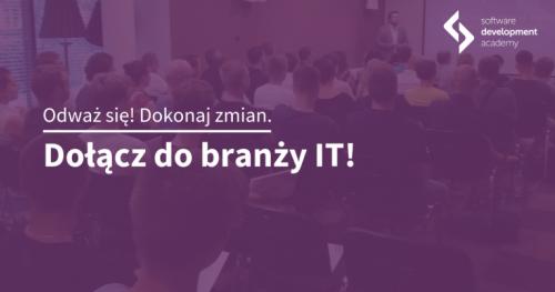 Zostań programistą! Spotkanie informacyjne St@rt IT w Gnieźnie
