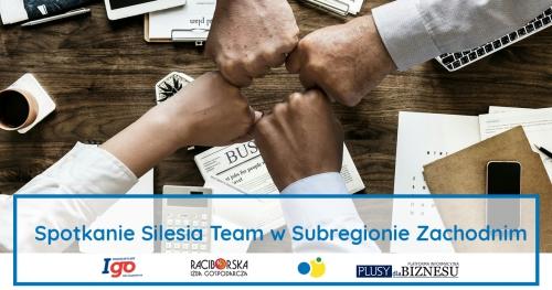 Spotkanie Silesia Team w Subregionie Zachodnim