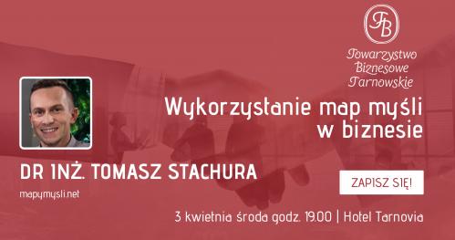 Wykorzystanie map myśli w biznesie - Wieczór Biznesowy w Tarnowie