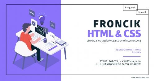 FRONCIK - stwórz swoją pierwszą stronę internetową