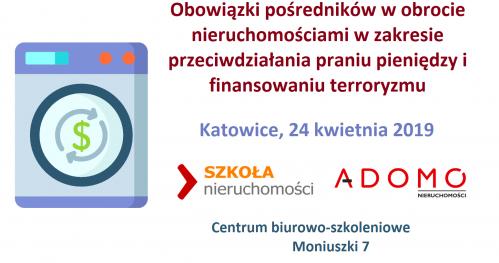 Obowiązki pośredników w obrocie nieruchomości w  zakresie przeciwdziałania praniu brudnych pieniędzy i finansowaniu terroryzmu