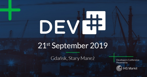 Konferencja IT - Dev# 2019