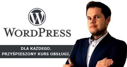 WordPress dla każdego. Przyspieszony kurs obsługi - bezpłatne szkolenie