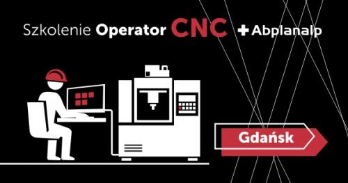 Szkolenie - Zostań operatorem CNC - Gdańsk 16-20.09.2019