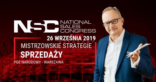 National Sales Congress III edycja - Mistrzowskie Strategie Sprzedaży