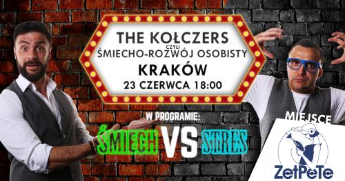 """THE KOŁCZERS, czyli ŚMIECHO-ROZWÓJ OSOBISTY w nowym programie """"Śmiech VS Stres""""."""
