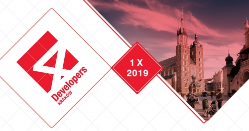 4Developers Kraków 2019 SOLD OUT!