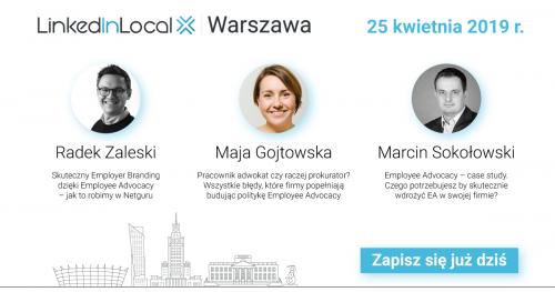 LinkedInLocal Warszawa - 25 kwietnia 2019