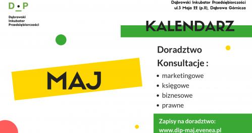 Darmowe Konsultacje Maj- Dąbrowski Inkubator Przedsiębiorczości