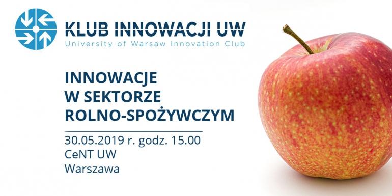 Innowacje w sektorze rolno-spożywczym - Konferencje w