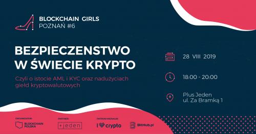 Meetup Blockchain Girls Poznań #6