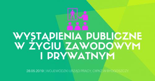 """Bezpłatne warsztaty pt. """"Wystąpienia publiczne w życiu prywatnym i zawodowym"""""""