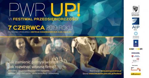 PWr UP VII Festiwal Przedsiębiorczości