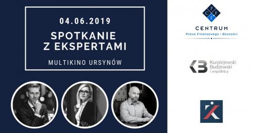 Spotkanie z Ekspertami. Warszawa 4 czerwca 2019 godz 18:30.