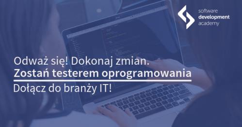 Zostań testerem! Spotkanie informacyjne w Łodzi