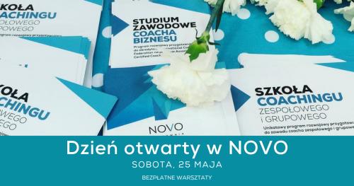 Dzień otwarty NOVO - Bezpłatne warsztaty o coachingu i pracy trenera zmiany