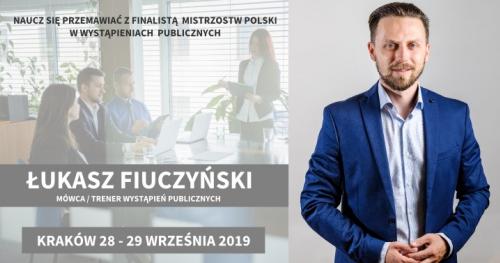 Wystąpienia publiczne - Praktyczny trening 28 - 29.09.2019 - Kraków