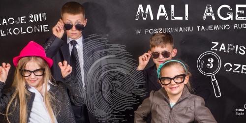 ZAPISY NA PÓŁKOLONIE - Mali Agenci w poszukiwaniu tajemnic Rudy Śląskiej
