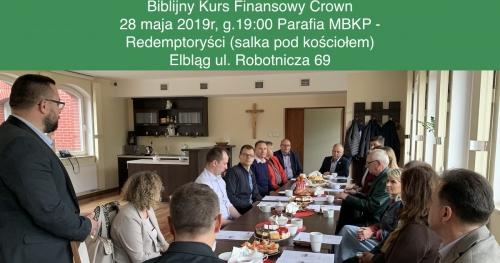Biblijny Kurs Finansowy Crown - spotkanie startowe