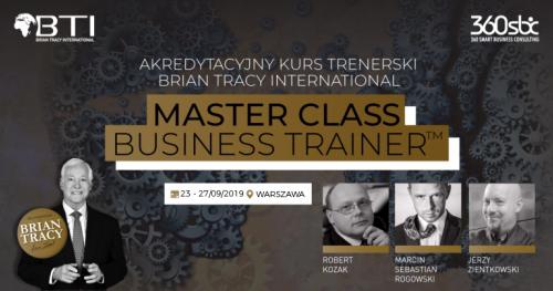 AKREDYTACYJNY KURS MÓWCÓW BRIAN TRACY INTERNATIONAL - MASTER CLASS SPEAKERS ACADEMY - 5 DNI WIEDZY I DOŚWIADCZENIA