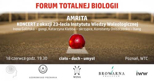 AMRITA - koncert z okazji 23-lecia IWW