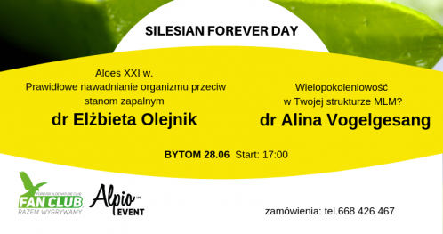 Silesian Forever Day z dr Elżbietą Olejnik